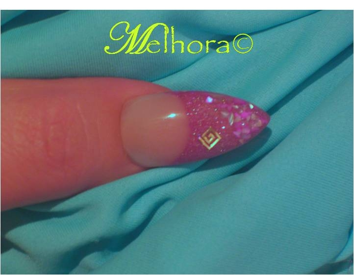 Stiletto using OPI Absolute Makeover Pink